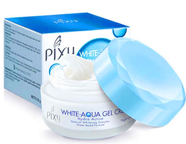 White-Aqua Gel Cream Night Cream yang Terbaik