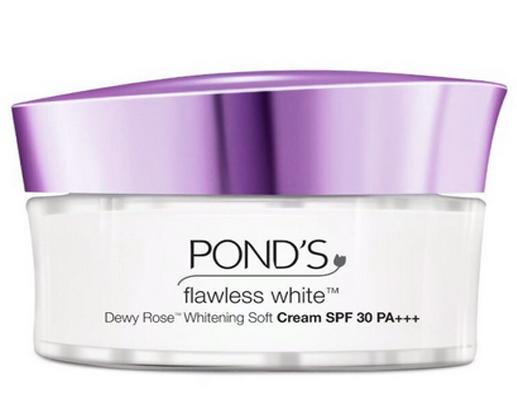 Flawless White Dewy Rose Whitening Soft Cream SPF 30 PA++ cream pemutih yang bagus