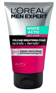 Men-Expert-White-Activ-Anti-Acne-Volcano-Brightening-Foam