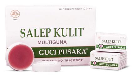 Guci Pusaka Salep Kulit Multiguna obat menghilangkan bekas luka