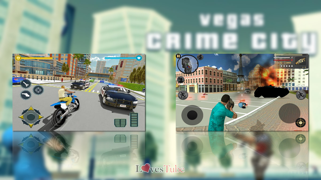 gameplay Vegas Crime Simulator